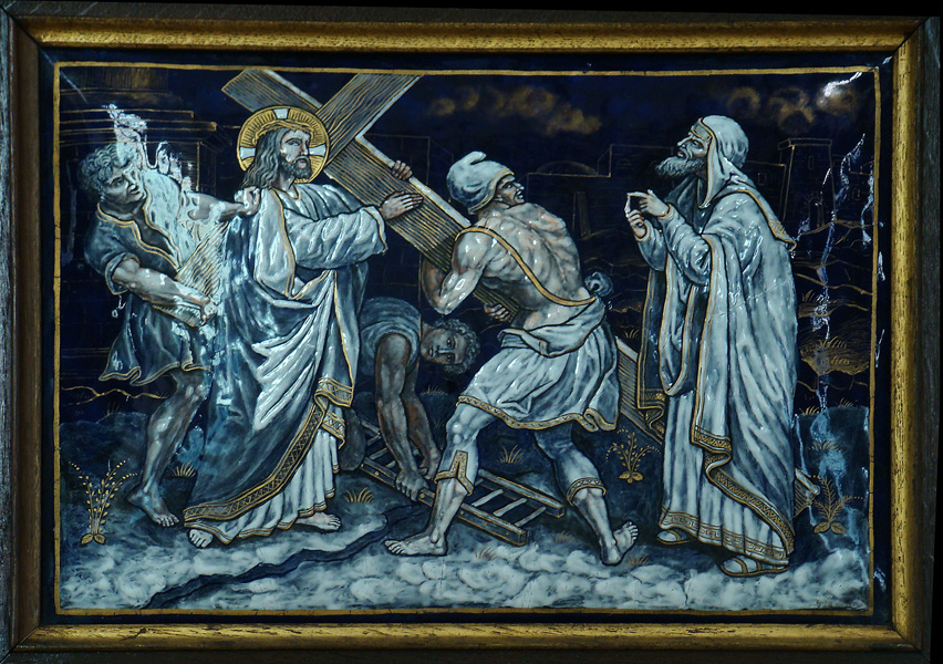The Way of the Cross - Station 2 - Jesus takes up his Cross.