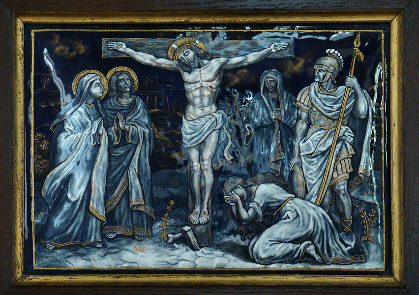 The Way of the Cross - Station 12 - Jesus dies on the Cross.